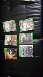 XBOX ONE GAMES FOR SALE ADULT OWNED WELL TAKEN CARE OF Windsor Region Ontario image 1