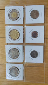 Never used uncirculated 2017 Canadian coins set