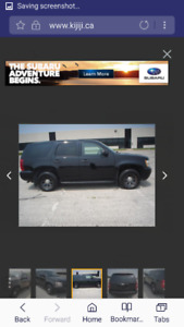 2009 Chevrolet Tahoe X police truck SUV, Crossover