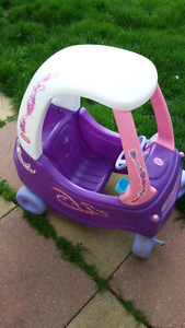 Fisher Price ride-in coupe (girl)