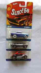 HOT WHEELS SINCE 68 TOP 40 SET OF 3 CARS