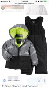Carters 3t snowsuit