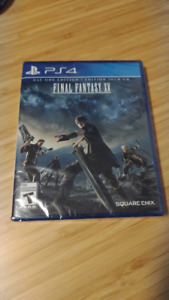 Sealed, brand new Final Fantasy XV 15 Day One PS4 Edition