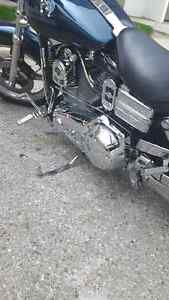 2001 dyna superglide with ss top end $7500 or best offer London Ontario image 4