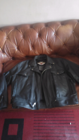 Harley Davidson original leather jacket size XL 48-50 inch chest