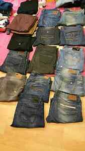 Guess,parasuco and buffalo jeans