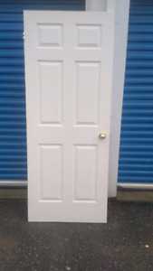 Two Interior doors in white, excellent condition like new