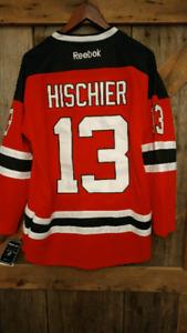 #1 2017 draft pick ex mooseheads hockey jersey