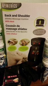 Homedics Shiatsu Back Message Cushion (Unopened)