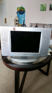 "Sharp 13"" lcd tv"