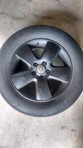MK4 Volkswagen Rims with tires