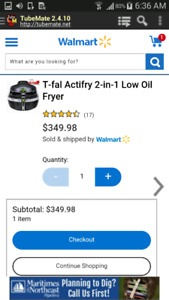 T-FAL AIR FRY 2in1 quick sale!
