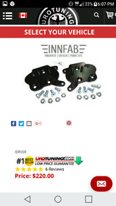 I.D.F. Drop plates for MK4 Golf and Jetta