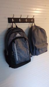 Gently used backpacks