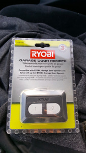 Ryobi garage door opener remote NEW