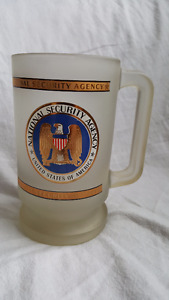 NATIONAL SECURITY AGENCY UNITED STATES OF AMERICA USA HEAVY GLAS