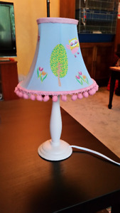 Kid owl lamp