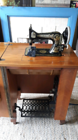 Treadle Sewing machine, Frister & Rossman