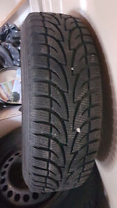 Winter tires 215/70r15 with RIM