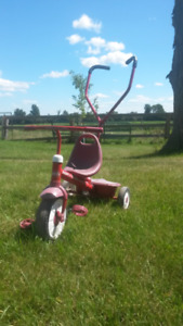 Radio Flyer Walk behind Tricycle and 3 Wheel Scooter