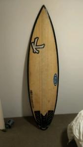 Katana surf board