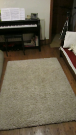 Koda Shaggy Rug. Nearly new. 160 x 120cm