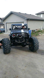 2002 Jeep TJ Buggy trade for Tacoma/jeep JK/diesel truck/ boat