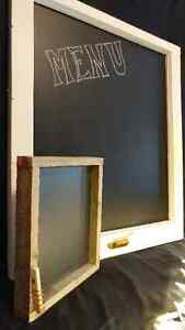 2 Chalkboards for Home or Business