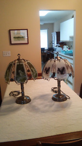 3 Tier floral type lamps