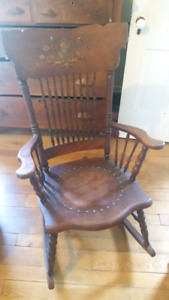 Antique rocking chair $125