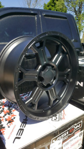 "NEW 20"" 5X139.7 VISION ALLOY WHEELS"
