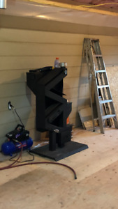 Wise way pellet stove- like new