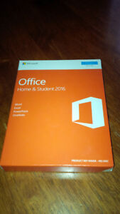 Microsoft OFFICE HOME AND STUDENT 2016 brand new