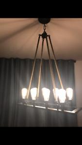 Hanging Light fixture.