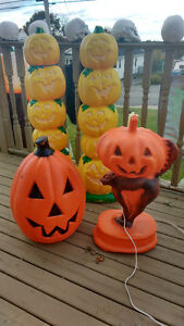 Halloween decorations outside or inside light up