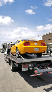 FLATBED TRUCK TOW SERVICES FROM $100/HOOK + $3/KM