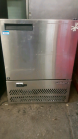 William commercial undercounter chiller stainless steel fully working