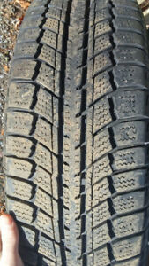 4 winter 205 70R 15  tires