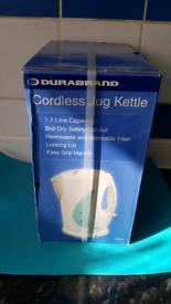 Cordless jug kattel