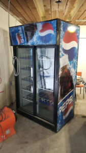 Double Door Pepsi Fridge - Need Gone ASAP!