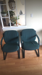 2 - Very strong client chairs! ( Best offer!