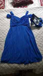 David's Bridal dress and shoes - never worn