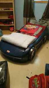 Toddler Car Bed with mattress