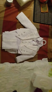 Baptism suit for baby boy 4-6 months
