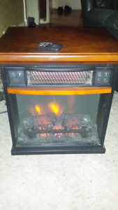 Electric fireplace 100$ obo