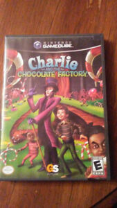 Gamecube game - Charlie and the Chocolate Factory