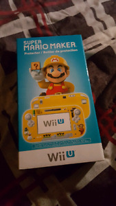 Mario maker Wii u game pad protector 0