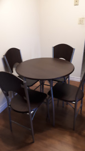 Dining table with chairs(4)