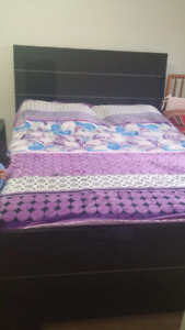 King size bed Italian made