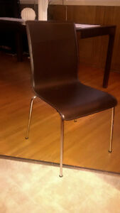 MODERN DINING CHAIRS - 6 IN TOTAL